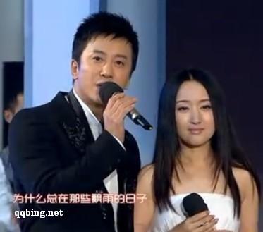 2012 湖南卫视小年夜晚会 杨钰莹 毛宁 《心雨》 高清