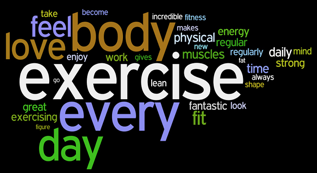 fitness affirmations wordle