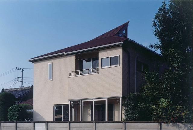 吹き抜け・オール電化床暖房・デザイン注文住宅の外観写真19