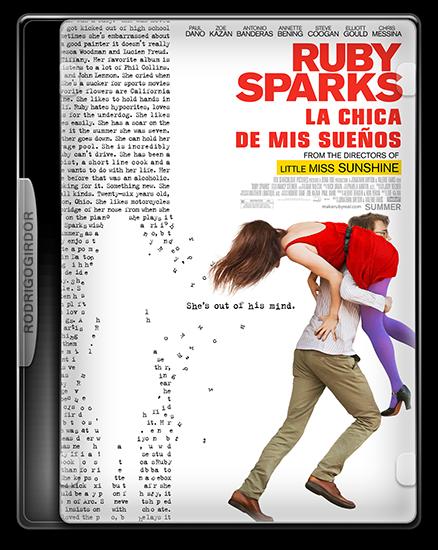 1Cover Ruby, La Chica De Mis Sueños (Ruby Sparks) [2012] [Español Latino] [BRRip Xvid]