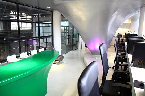 Las oficinas del estudio Taranta Creations