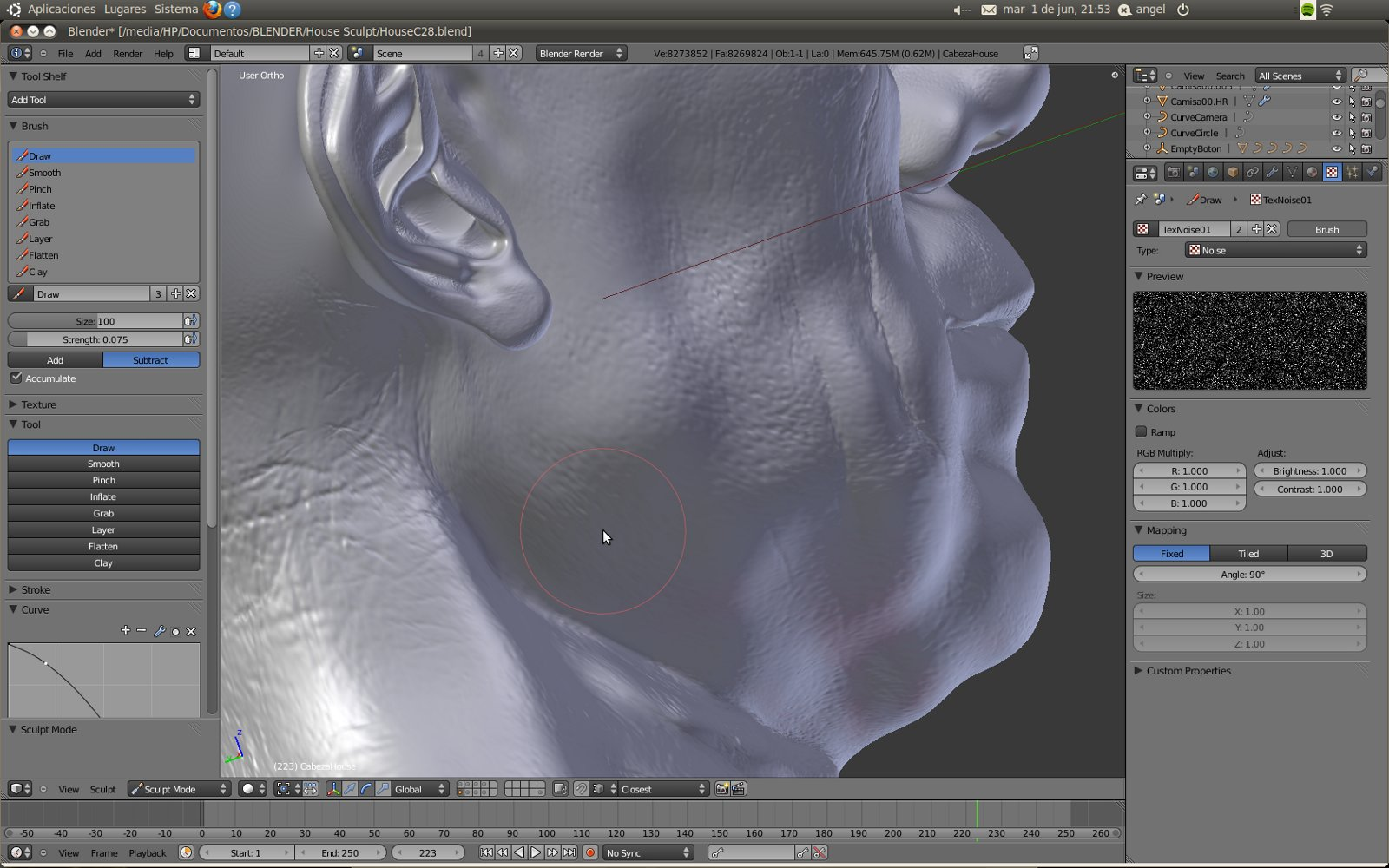 Blender Sculpt