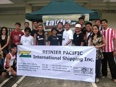 Special thanks to Reinier Pacific for sponsoring takbo.phs aid station!