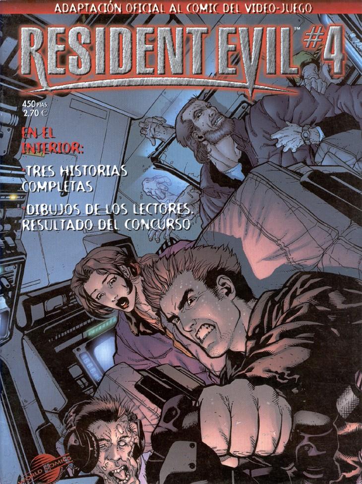 17 Comics De Resident Evil [Español] [Terror] [PDF] [MU]