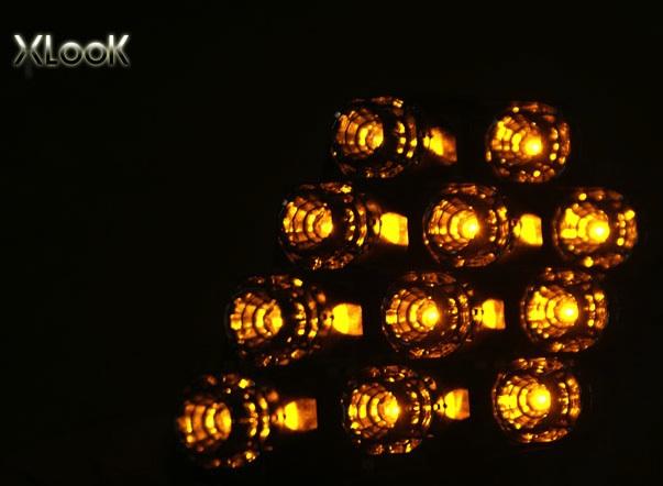 MODULE XI NHAN LED 1 SẮC MẪU XLOOK FORTE