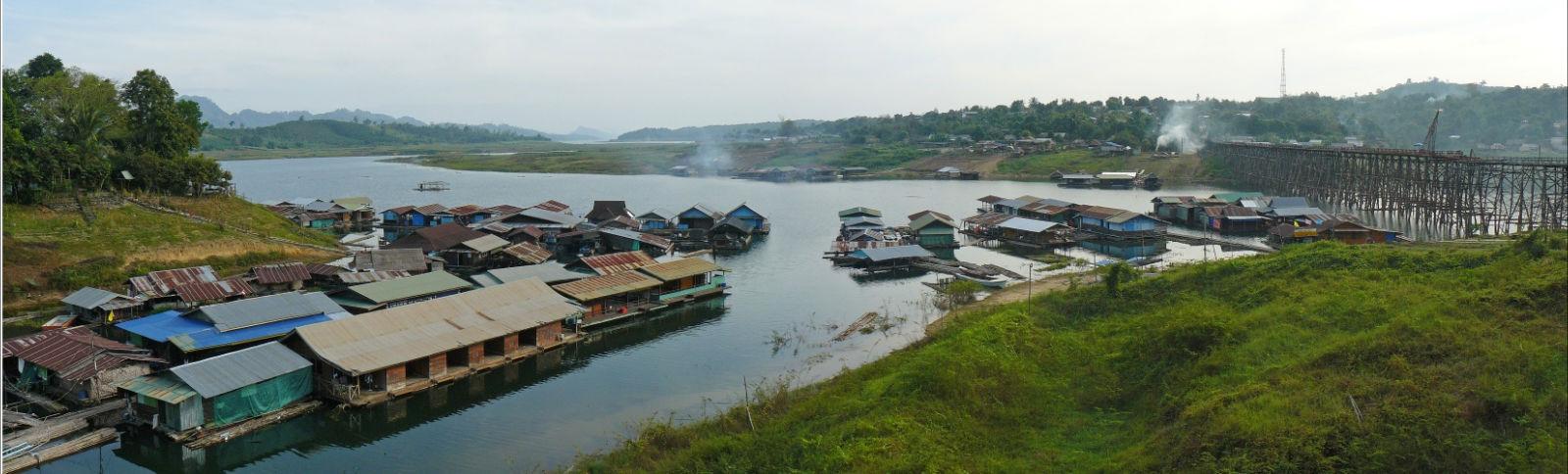 sangkhlaburi, Thailandia,foto di viaggi