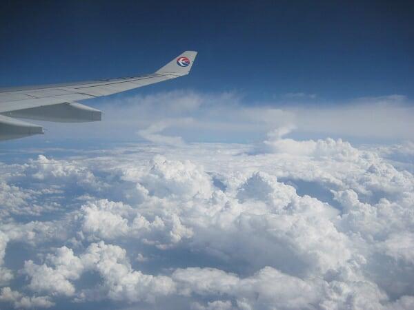 挑一张窗外的云,坐飞机了怎么也要放一张窗外的