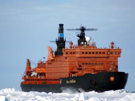 北極クルーズ:ビクトリー号