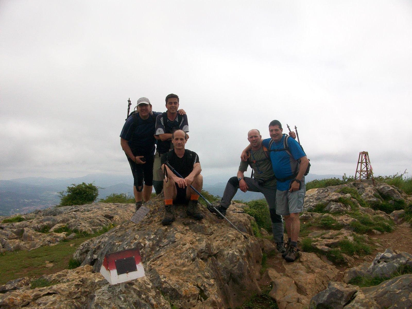 Pagasarri mendiaren gailurra 672 m.  -  2009ko maiatzaren 17an