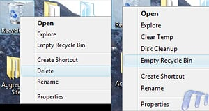 Advanced Recycle bin Wndows VIsta