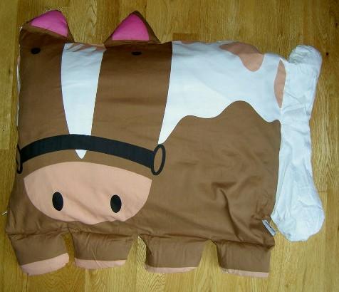 Horse Shaped Pillows For Children