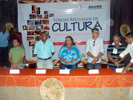 IMAGEM = Fórum Regional de Cultura em Bacabal