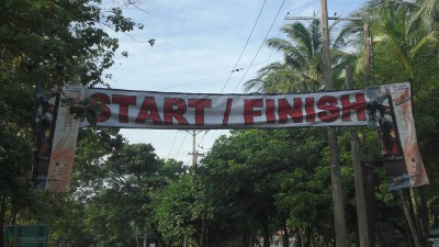 The utilitarian Start/Finish line