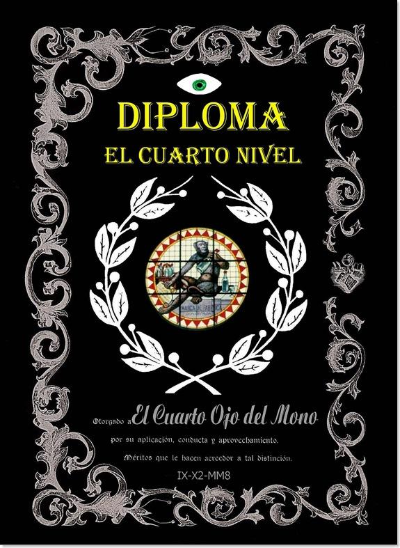 Diploma EL CUARTO NIVEL (El Cuarto Ojo del Mono)-ROXIO-JPEG-