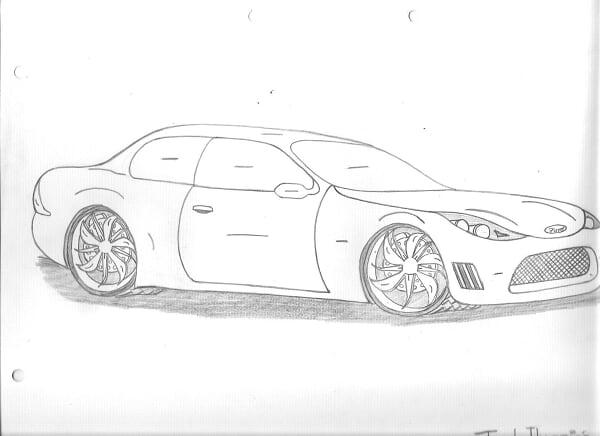 Mis Bocetos De Autos