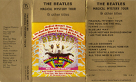 1973 Magical Mystery Tour UK Cassette Inlay