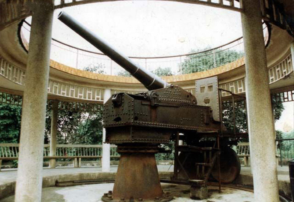 Krupp cannon in Nanning