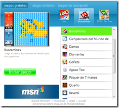 Spanish screenshot