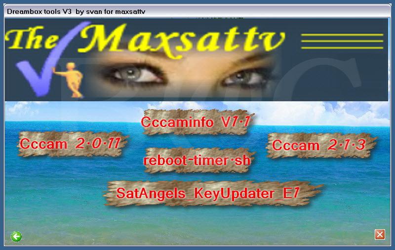 Maxsattv Dreambox tools v3