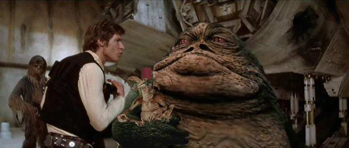 Jabba And Friend