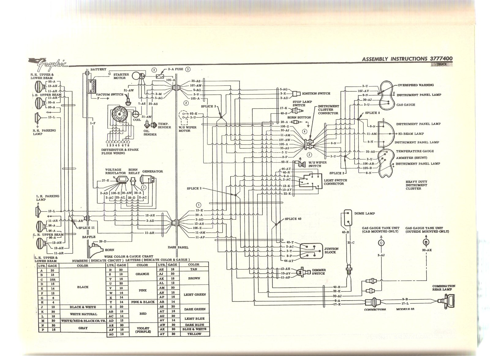 wiring diagram the present chevrolet gmc truck message wiring diagram the 1947 present chevrolet gmc truck message board network