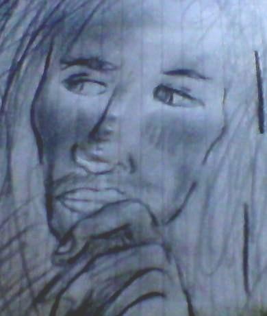 Bob Marley [Mi dibujo a lapiz]