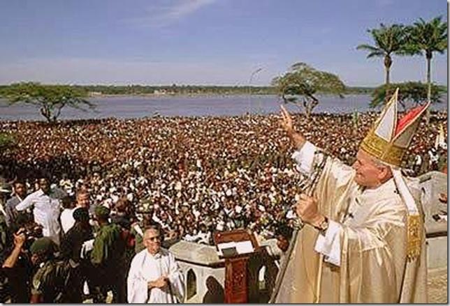 Juan Pablo II todo el mundo te quiere y te recuerda