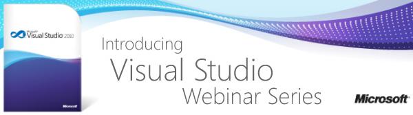 Introducing Visual Studio Webinar Series