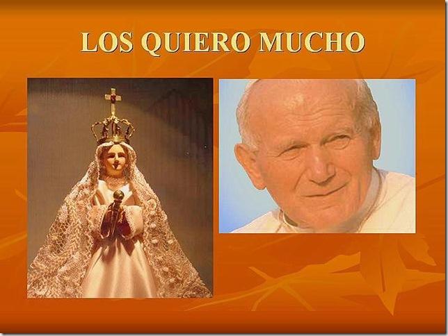 La Bella María de Tlaltenango y S.S. Juan Pablo II