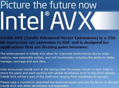 avx instructions