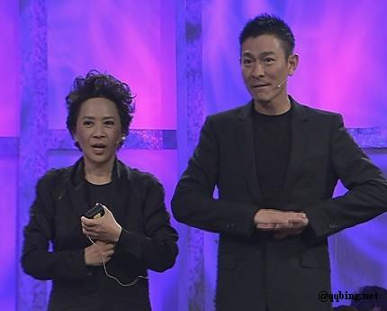 鲁豫有约20120228 刘德华来了 分享《桃姐》的感动