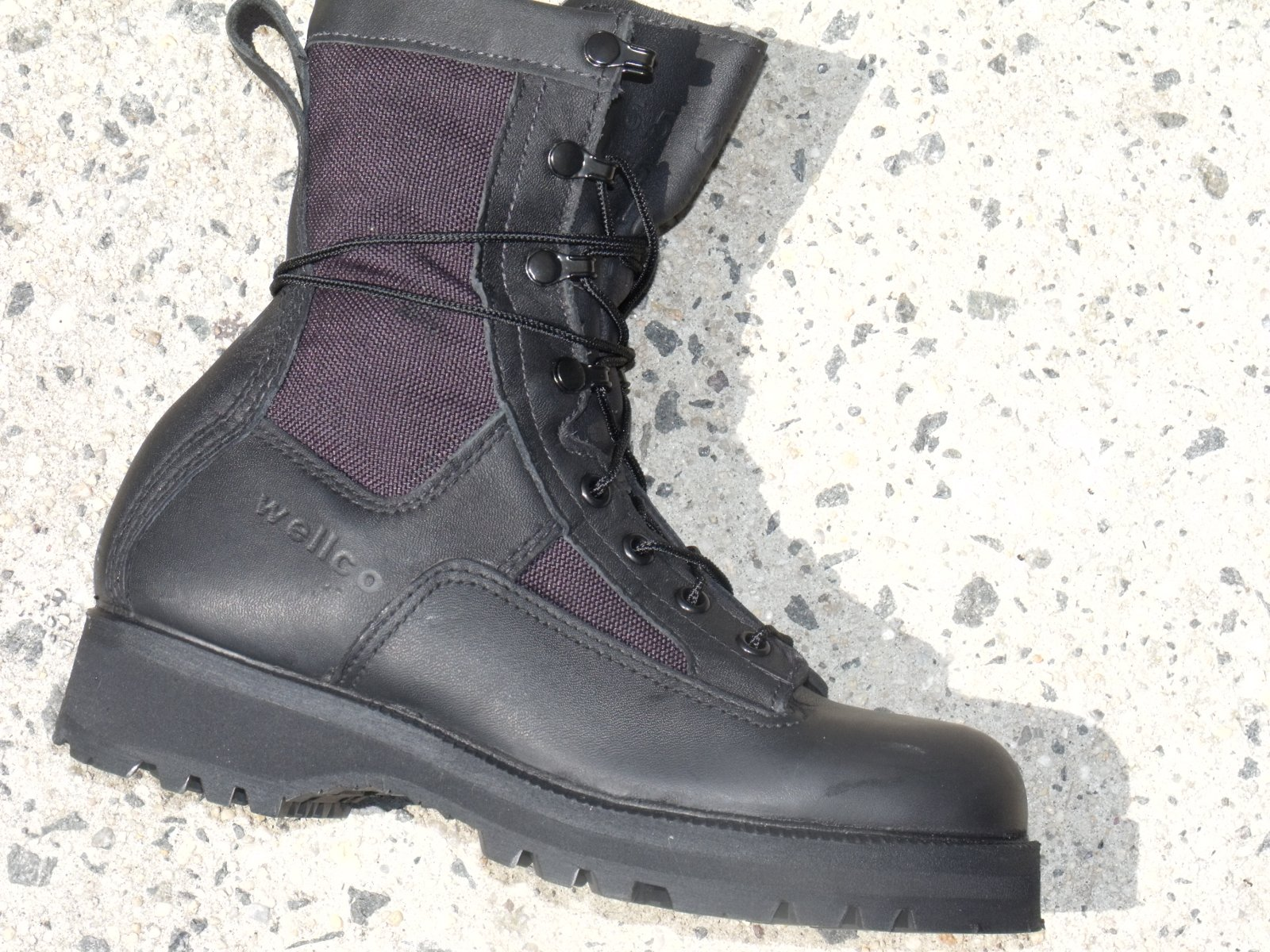 Belleville Wellco Bates GORE-TEX Military Black Leather Waterproof ...