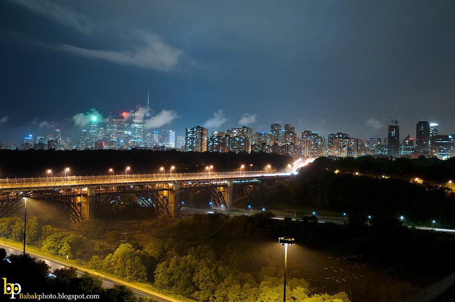 Toronto Sky, Nikon D300, Nikkor18-70@27mm, F3.8, 4s, Iso200