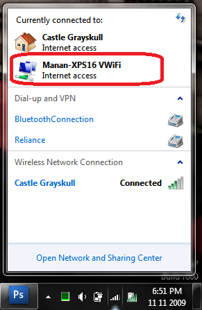 connect to virtual wifi vwifi windows 7 setup