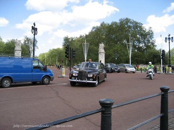 Carro da familia real inglesa