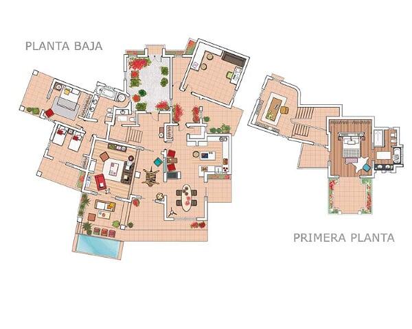 Plano, Casa en Marbella