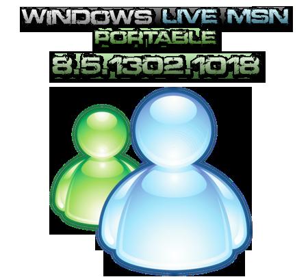Windows live messenger portable 8.5