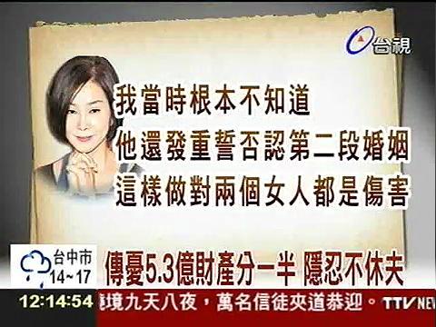 陈美凤与男友David分手,男友竟然是老公,分手其实是离婚