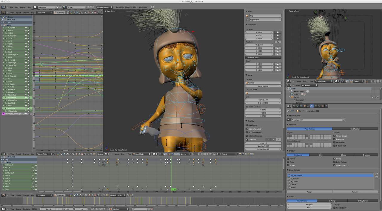 Blender Animacion