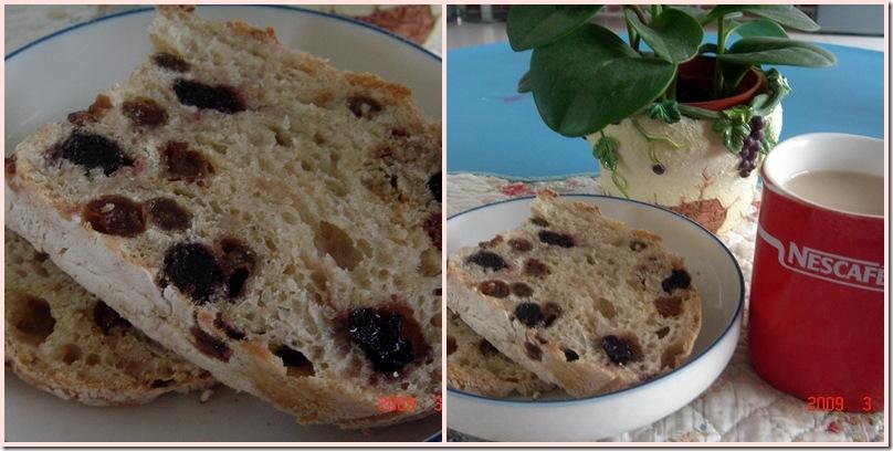 葡萄全麥歐式麵包2