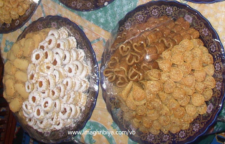 حلويات مغربية للعيد و الافراح و المناسبات