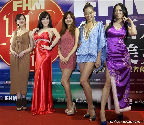 明星使出爆乳拉票 2012FHM男人帮全球百大性感美女票选开始