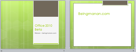 Office 2010 Powerpoint 2010 New Design Templates Austin